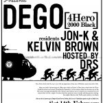 Eyes Down presents Dego 2004 poster