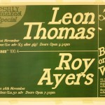Leon Thomas and Roy Ayers flyer