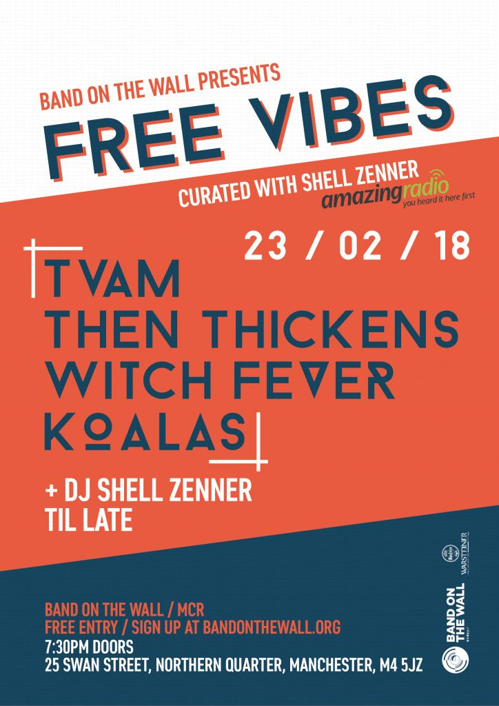 Free Vibes x Amazing Radio: TVAM, Then Thickens, Witch Fever