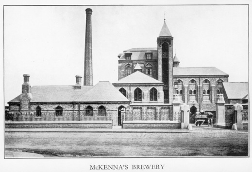 Figure 9 – The McKenna Brewery in Brewery Street, Rochdale Road, Harpurhey, 1885