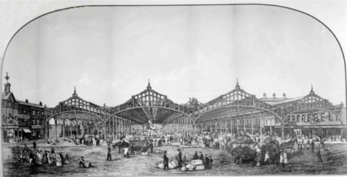 Figure 17 – Smithfield Market by Henry Edward Tidmarsh (Manchester Archives and Local Studies)