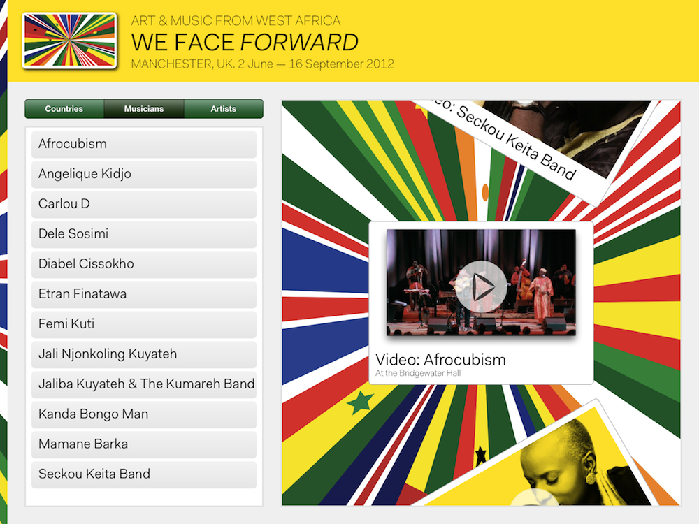 Band on the Wall Launches Free We Face Forward iPhone App - Band on