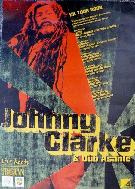 Johnny Clarke Poster