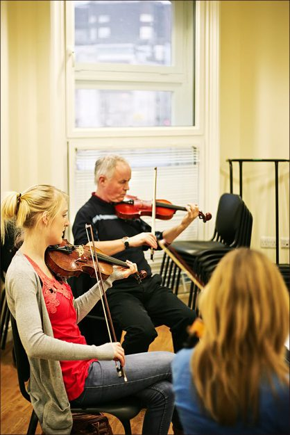 folk Fiddle: Short Course Spring 2012