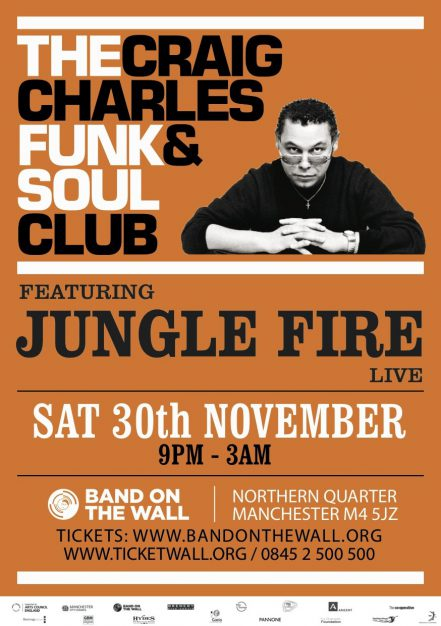 Craig Charles Funk and Soul Club ft. The Sweet Vandals live